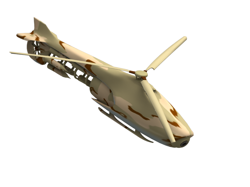 DragonXi Unmanned Autonomous Vehicle (UAV) for Military powered by Artificial Intelligence (AI)